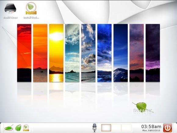 Bodhi Linux 2.3.0: Theme - Angelic