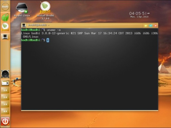 Bodhi Linux 2.3.0: Terminology