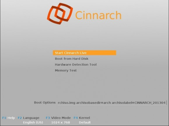 Cinnarch 2013.04.05: Bootscreen