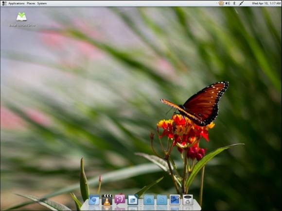 Fuduntu 2013.02: Desktop