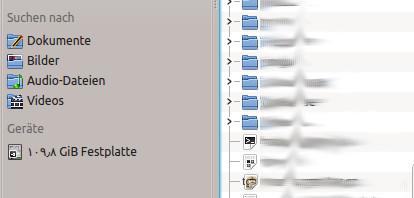 Was für ein Ding ist da mit der Festplatte?