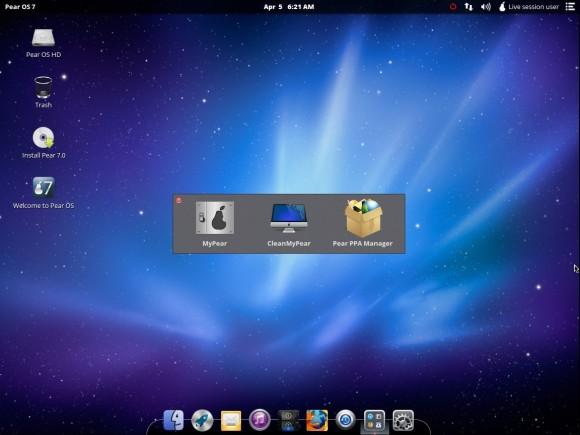 Pear OS 7: Pear Utilities