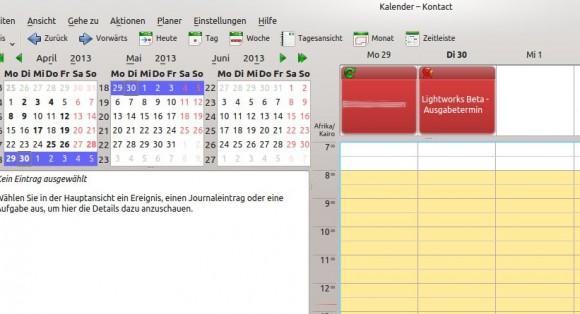 Mein Kalender hat Recht! :)