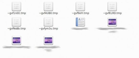 Seltsame .tmp-Dateien