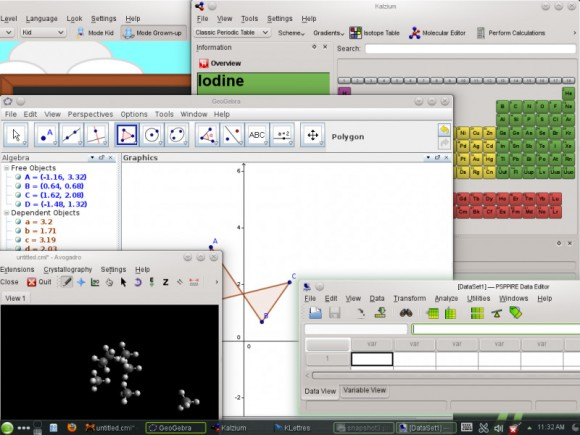 "openSUSE 12.3 ""Edu Li-f-e"": Bildungs-Software (Quelle: en.opensuse.org)"