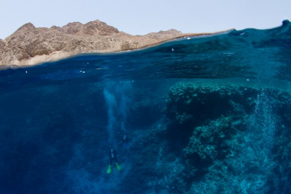 Das Blue Hole in Dahab