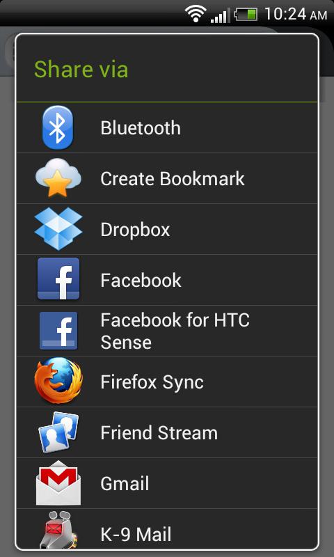 Mit ownCloud Bookmarks verarbeiten