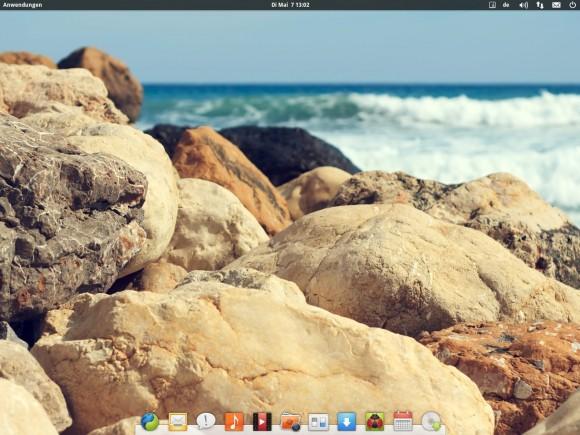elementary OS Luna: Desktop