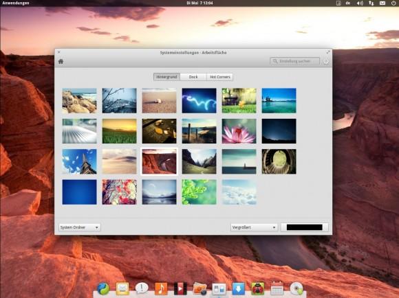 elementary OS Luna: Systemeinstellungen