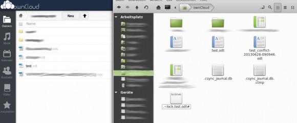 ownCloud Desktop Client: _conflict nur auf dem Desktop
