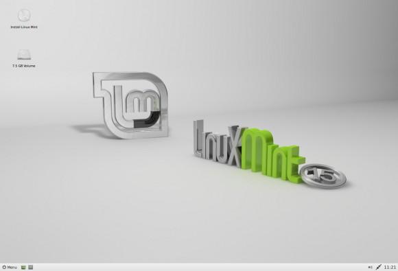 Linux Mint 15: Xfce-Edition (Quelle: linuxmint.com)