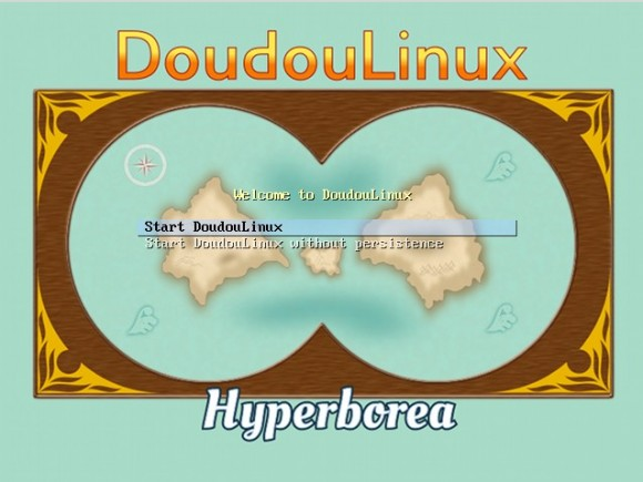 Doudou Linux 2.0: Start