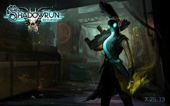 Shadowrun Returns Wallpaper (Quelle: harebrained-schemes.com)