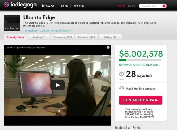 Ubuntu Edge knackt die 6 Millionen ...