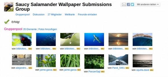 Ubuntu Wallpaper-Wettbewerb: Ich bin wieder dabei ... :)