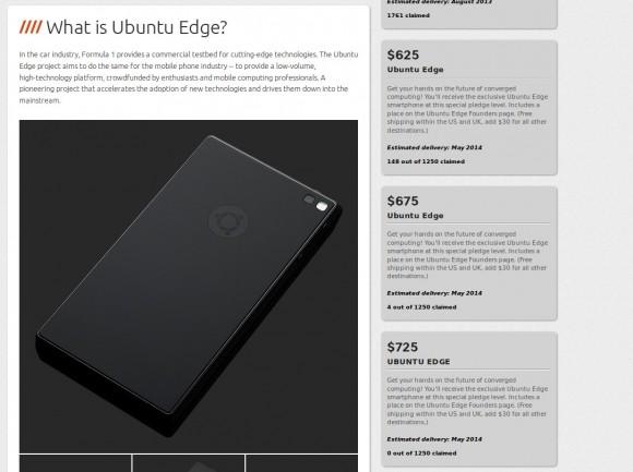 Ubuntu Edge: Drei neue Perks