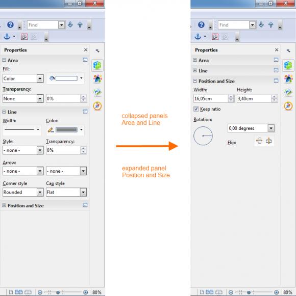 OpenOffice 4.0: Dinge verschwinden lassen (Quelle: apache.org)