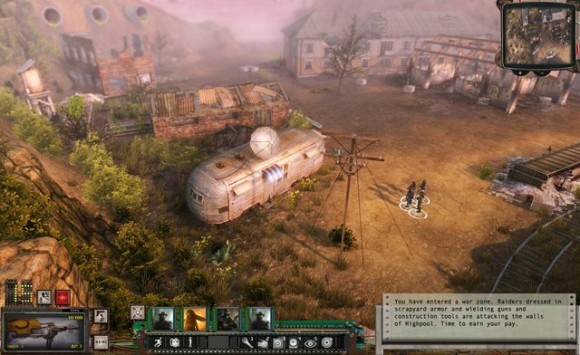 Wasteland 2: HUD (Quelle: inxile-entertainment.com)