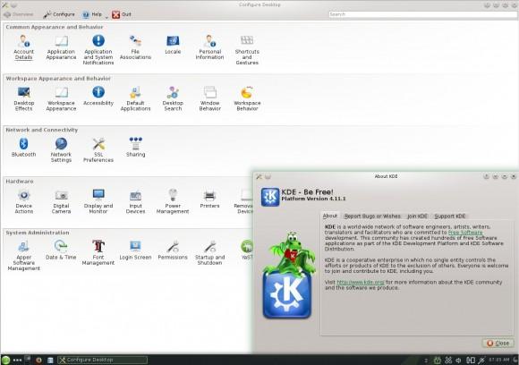 openSUSE 13.1 KDE: Einstellungen