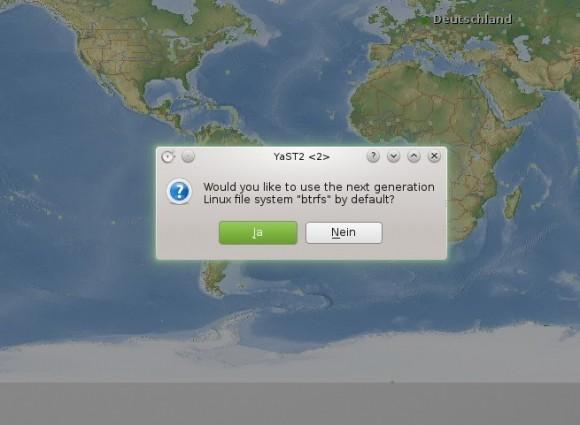 openSUSE 13.1 KDE: btrfs benutzen?