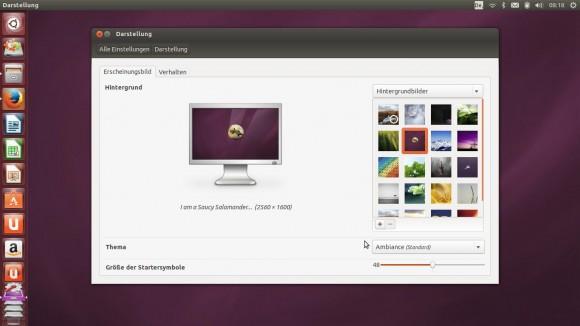 Ubuntu 13.10: Neue Hintergrundbilder