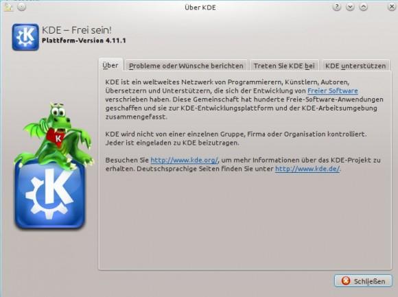 Kubuntu 13.04: Derzeit noch auf KDE 4.11.1