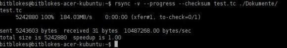 rsync: Container mit PDF wird komplett übertragen