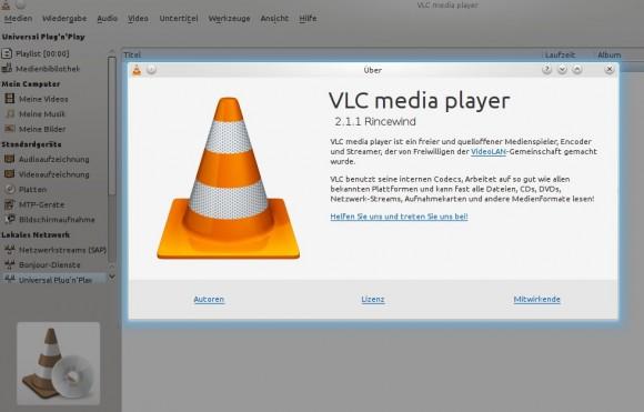 """VLC 2.1.1 """"Rincewind"""""""