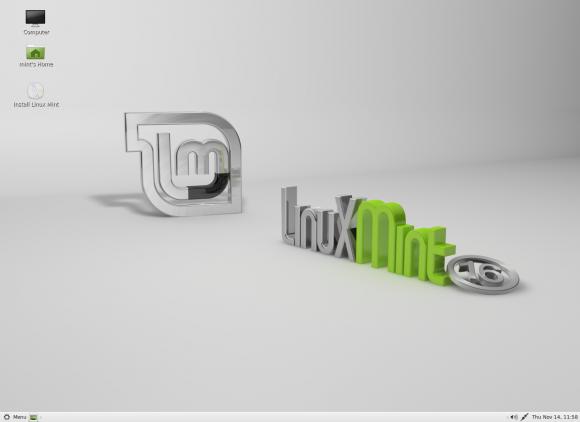 Linux Mint 16: MATE (Quelle: linuxmint.com)