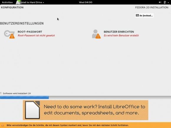 Fedora 20: Installation