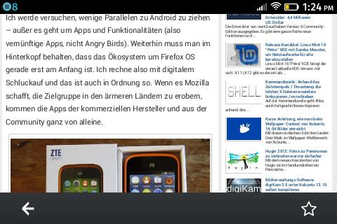Firefox OS: Firefox dreht sich