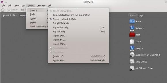 Kubuntu 14.04: Gwenview