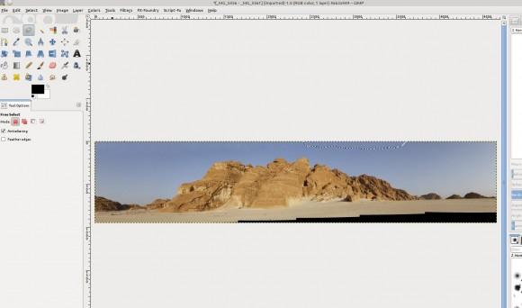 Panorama in GIMP: *Werkel*
