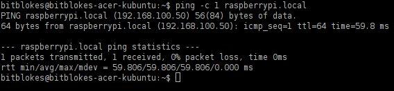 Raspberry Pi: Zeroconf