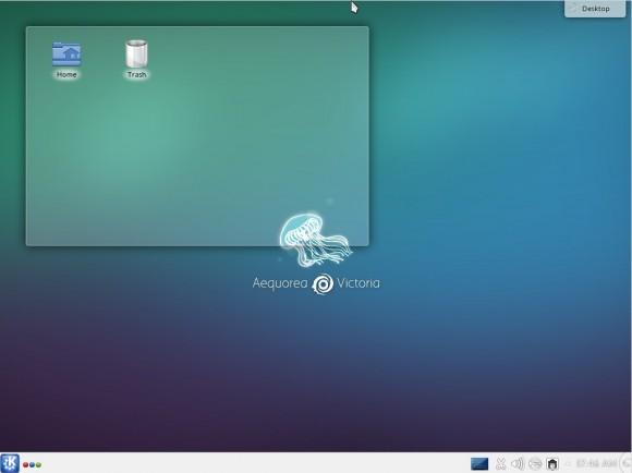 Tanglu 1.0 KDE: Desktop