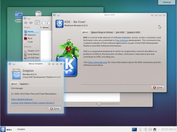 Tanglu 1.0 KDE: 4.11.5