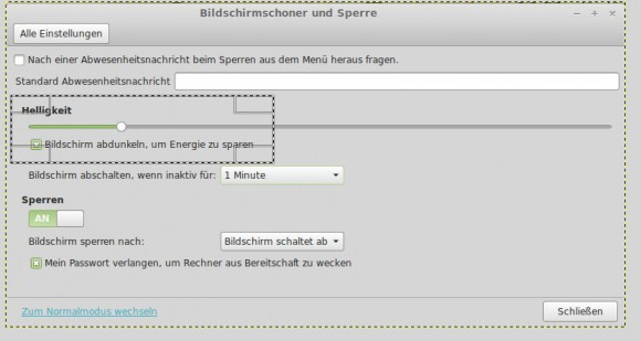 GIMP: Bereich auswählen