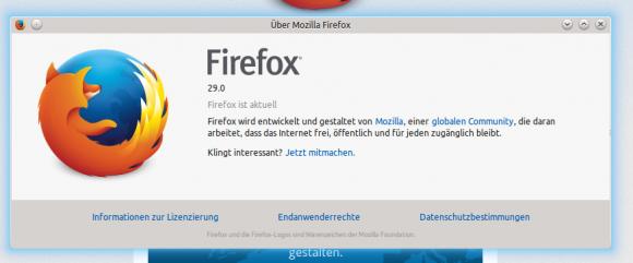 Firefox 29 für Linux