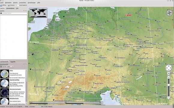 Desktop-Globus: Marble