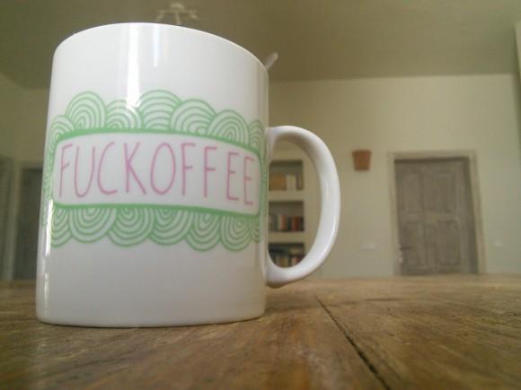 Eine gute Tasse Kaffee hilft ...