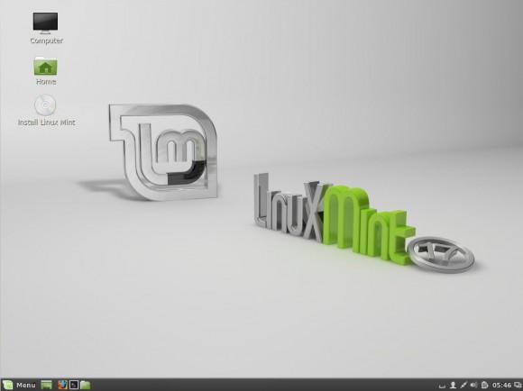 Linux Mint 17: Desktop