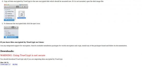 TrueCrypt: andere Plattformen