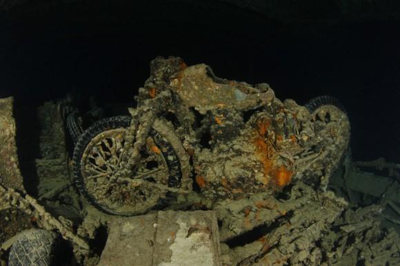 Thistlegorm: Motorrad