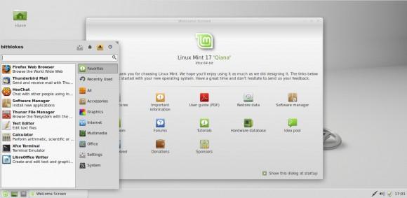 "Linux Mint 17 ""Xfce"""