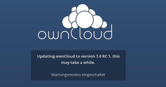 ownCloud von 6 auf 7 aktualisieren: *werkel*