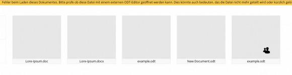 ownCloud 7: Word-Dokumente funktionieren bei mir nicht