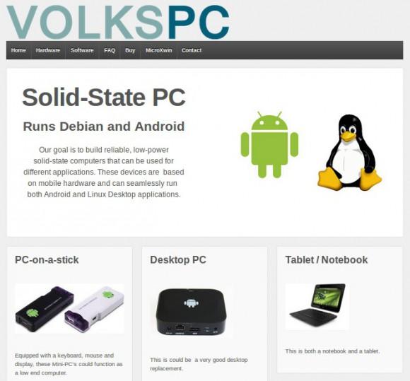 VolksPC: Android und Dbien GNU/Linux Hand in Hand
