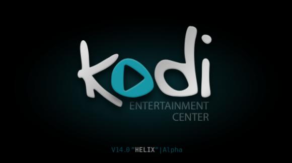 Kodi-Logo: Noch nicht ganz fertig
