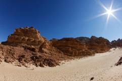 wüste im sinai