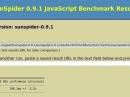 Sunspider 0.9.1: Firefox 17